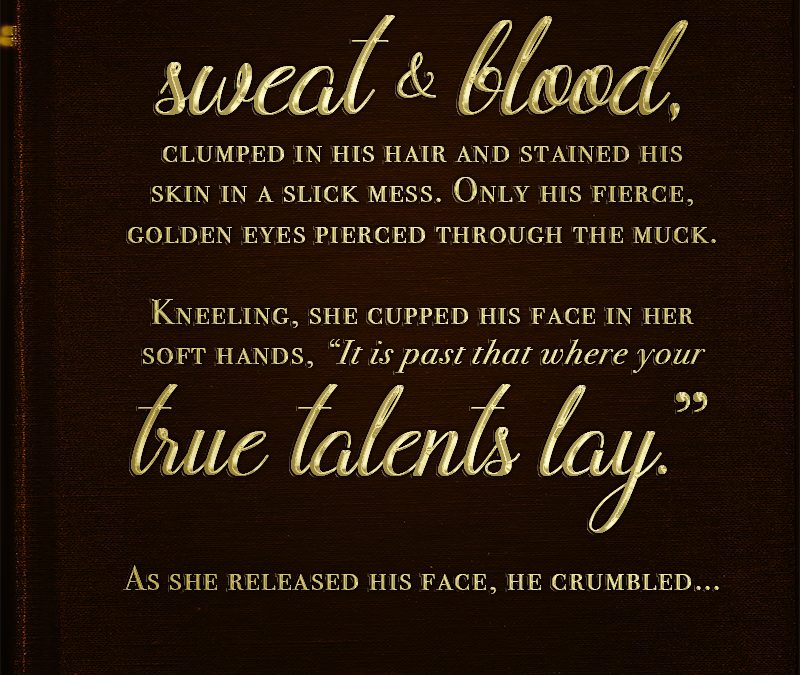 Writing Prompt : Talent of Sweat & Blood
