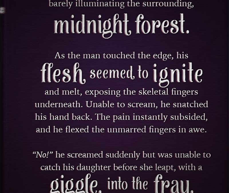 Writing Prompt : Midnight Forest Fray