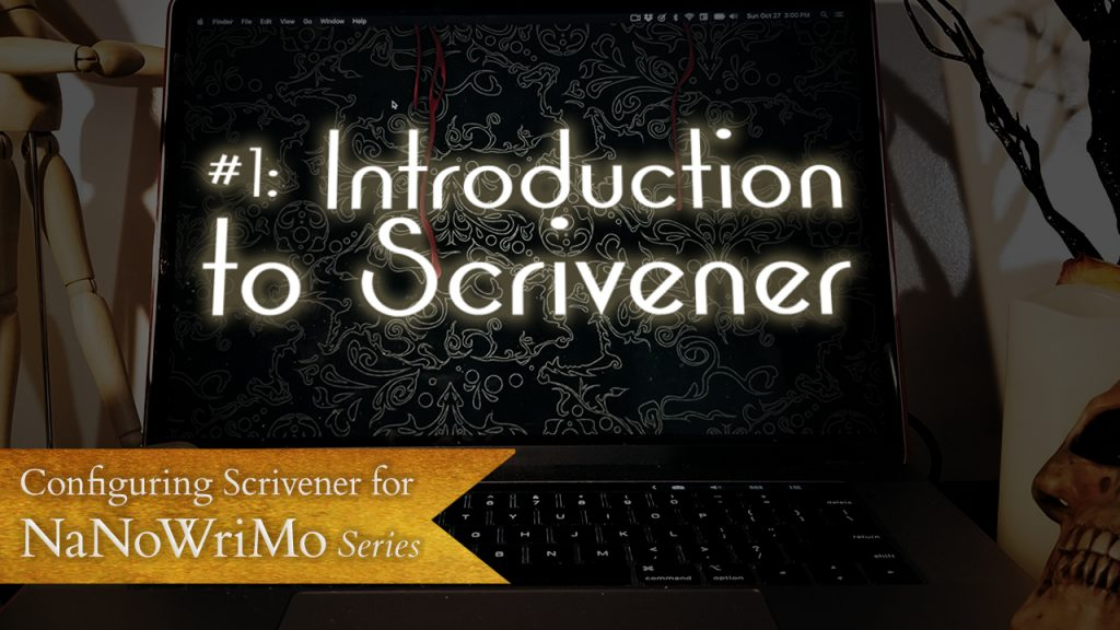 Video for Configuring Scrivener for NaNoWriMo Series Introduction to Scrivener
